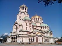 Domkyrka för St Alexander Nevsky Royaltyfria Foton