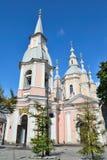 Domkyrka för St Andrew ` s i St Petersburg royaltyfri bild