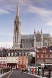 Domkyrka för St Colmans, Cobh, Co kork Arkivfoton