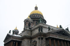 Domkyrka för St. Isaacs Arkivbilder