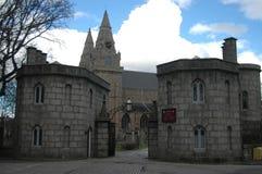 Domkyrka för St Machar, stad av Aberdeen Arkivbild