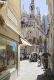 Domkyrka för St Marco Square Fotografering för Bildbyråer