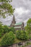 Domkyrka för St-Mungo` s, Glasgow, Skottland, UK Arkivfoton