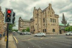 Domkyrka för St-Mungo` s, Glasgow, Skottland, UK Royaltyfri Bild