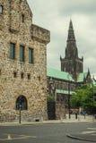 Domkyrka för St-Mungo` s, Glasgow, Skottland, UK Royaltyfria Foton