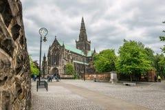 Domkyrka för St-Mungo` s, Glasgow, Skottland, UK Fotografering för Bildbyråer