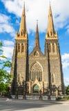 Domkyrka för St Patrick ` s i Melbourne Arkivbild