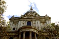 Domkyrka för St Pauls London UK Fotografering för Bildbyråer