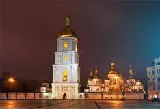 Domkyrka för St. Sophia i Kyiv, Ukraina Fotografering för Bildbyråer