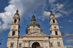 Domkyrka för St Stephans i den Budapest Ungern Royaltyfri Bild