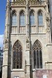 Domkyrka för St Stephans, Wien, Österrike Arkivbilder