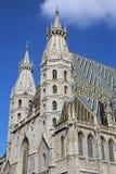 Domkyrka för St Stephans, Wien, Österrike Royaltyfri Bild