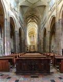 Domkyrka för St Vitus Arkivbilder