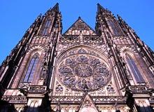 Domkyrka för St Vitus, Prague Fotografering för Bildbyråer