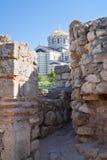 Domkyrka för St. Vladimir i Chersonesus, Crimea Arkivfoton