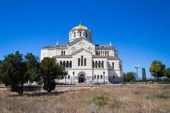 Domkyrka för St Vladimirs Fotografering för Bildbyråer