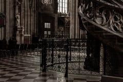 Domkyrka för Stephansdom - St Stephen ` s royaltyfri foto