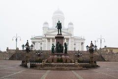 domkyrka finland helsinki Royaltyfri Bild