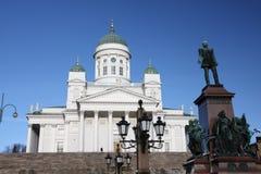 domkyrka finland helsinki Royaltyfria Bilder