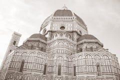 Domkyrka Florence, Italien, Europa Arkivfoton