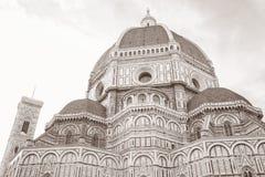 Domkyrka Florence, Italien, Europa Royaltyfri Foto