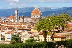 domkyrka florence italy tuscany Royaltyfri Foto