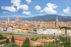 domkyrka florence italy tuscany Arkivfoto