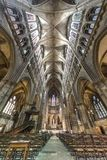 domkyrka gotiska metz Arkivbild