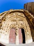 domkyrka gotiska salamanca Arkivfoto
