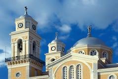 domkyrka greece ortodoxa grekiska kalamata Royaltyfria Bilder
