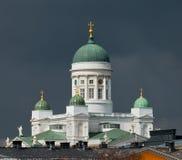 domkyrka helsinki finland Fotografering för Bildbyråer