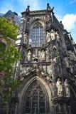 Domkyrka i Aachen, Tyskland Arkivbild