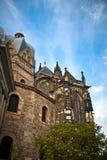 Domkyrka i Aachen, Tyskland Arkivfoto