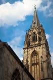 Domkyrka i Aachen, Tyskland Arkivfoton