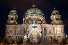Domkyrka i Berlin, Tyskland Arkivfoton