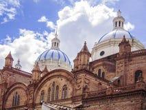 Domkyrka i Cuenca, Ecuador Royaltyfri Fotografi