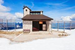 Domkyrka i Dachstein berg Royaltyfria Bilder