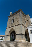 Domkyrka i Faro, Algarve region, Portugal Arkivbild