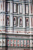 Domkyrka i Florence, Tuscany, Italien Royaltyfria Bilder
