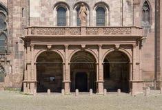 Domkyrka i Freiburg im Breisgau Royaltyfria Bilder
