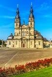 Domkyrka i Fulda, Tyskland royaltyfria bilder