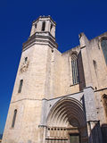 Domkyrka i Gerona, Catalonia, Spanien Arkivfoton
