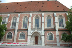 Domkyrka i Ingolstadt i Tyskland Royaltyfri Foto