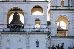 Domkyrka i Kreml, Moskva Royaltyfri Bild