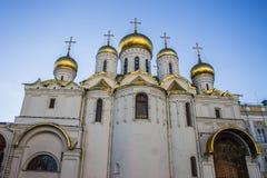 Domkyrka i Kreml, Moskva Arkivfoton
