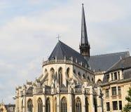 Domkyrka i Leuven Belgien Royaltyfri Foto