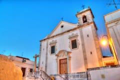 Domkyrka i Odivelas, Portugal Fotografering för Bildbyråer