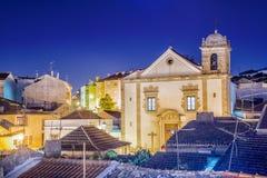 Domkyrka i Odivelas, Portugal Arkivfoto