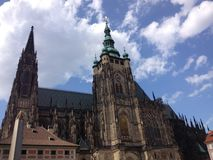 Domkyrka i Prague Royaltyfria Bilder