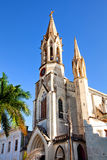Domkyrka Iglesia de Nuestra Corazon de Sagrado Jesus Arkivbilder